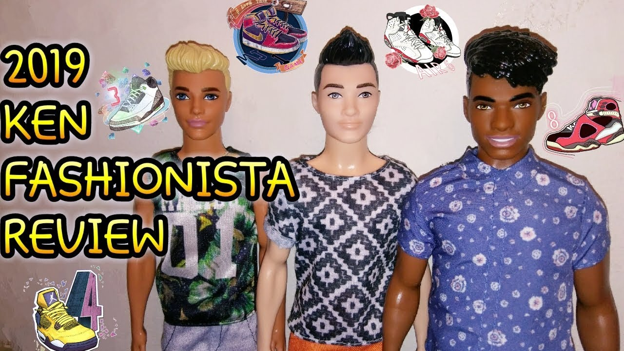 2019 Ken Fashionista Doll Review
