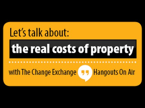 Lets talk about the real property costs!