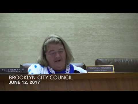 Brooklyn City Council Meeting 6/12/17