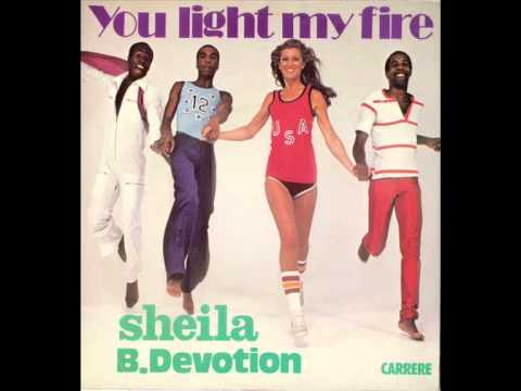 Sheila and B Devotion  You Light My Fire HQ Audio
