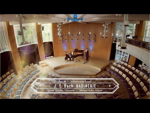 J.S. Bach: Badinerie - Duo Festivo - Simon Schäfer (trp) and Michael Kuhn (p)