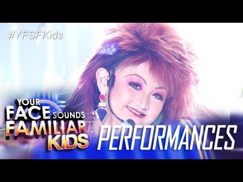 Your Face Sounds Familiar Kids: Alonzo Muhlach as Cyndi Lauper - Girls Just Wanna Have Fun
