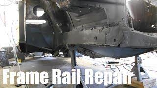 Passenger Side Front Frame Rail Repair - 015
