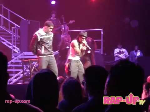 """Lil Wayne Performs """"Mrs. Officer"""" with Drake"""