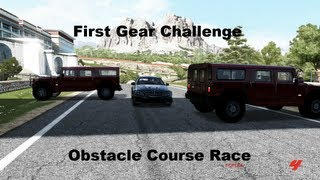 First Gear Challenge Obstacle Course Race (Forza 4)