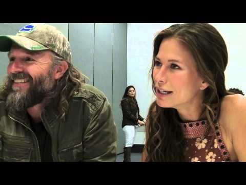 John Pyper Ferguson, Rhona Mitra THE LAST SHIP Interview