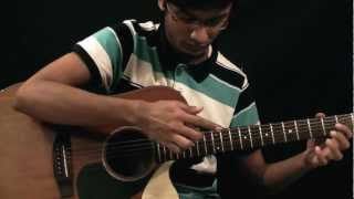 Gambar cover Mashfique Anwar - Somebody That I Used To Know: Gotye - (Mike Dawes) - Solo Guitar