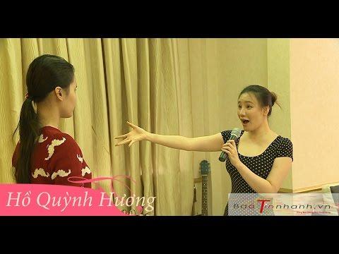 Hồ Quỳnh Hương hướng dẫn Thanh Thảo (Bé kẹo kéo) hát ca khúc Anh