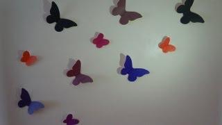 видео Шторы с бабочками для детской своими руками: как сделать красиво