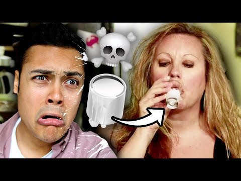 meet the woman who DRINKS PAINT ☠️(Reacting To My Strange Addiction)