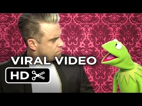 Muppets Most Wanted Viral Video - Valentine's Day (2014) Kermit the Frog, Robbie Williams Movie HD