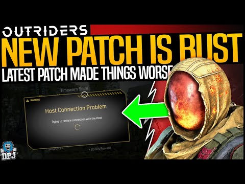 WTF DID THEY DO? - Latest OUTRIDERS PATCH  BROKE THE GAME AGAIN?? |
