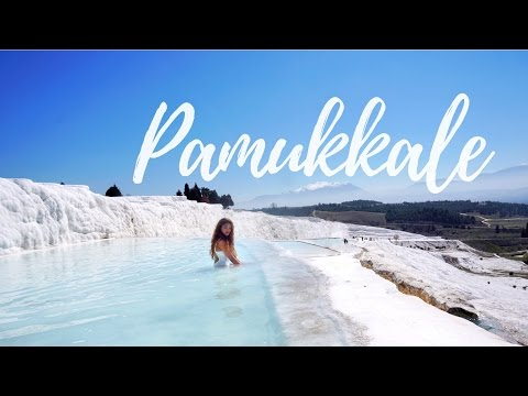Less than 24hours in Pamukkale   Travel Vlog