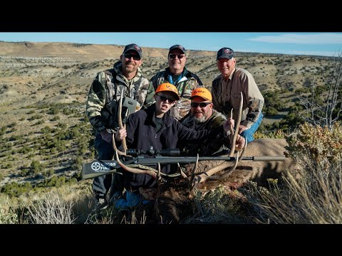 ADAM'S ELK HUNT WITH THE MULEY FANATIC FOUNDATION