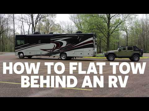 How to Flat Tow Behind an RV