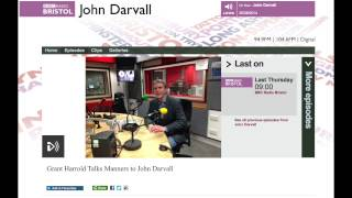 Grant Harrold on BBC Radio Bristol Thumbnail