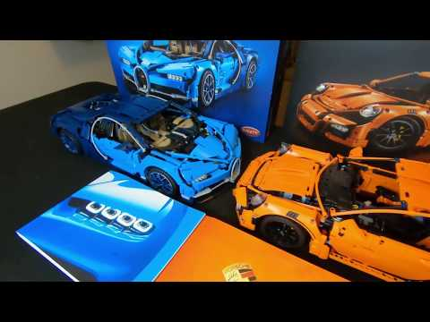 LEGO BUGATTI: Build & Review