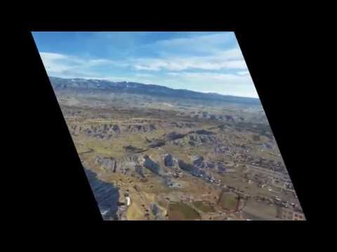 Sightseeing Flight North from Santa Fe