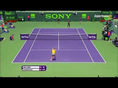 Maria Sharapova vs Serena Williams Miami Sony Open 2014