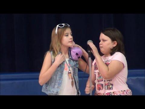 Chloe & Jessica - Lockview Talent Show - Comedy Routine