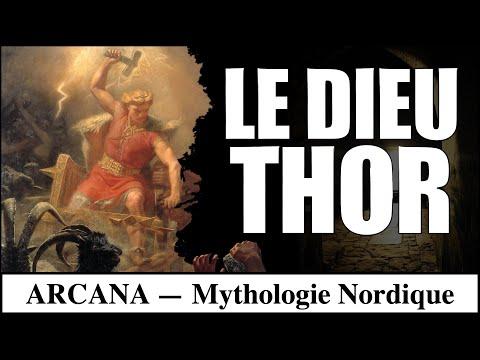 Thor dieu du tonnerre - Mythologie Nordique