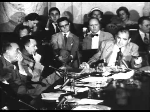 Image result for photo of Army-McCarthy hearings