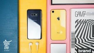 So sánh nhanh Galaxy S10e & iPhone XR