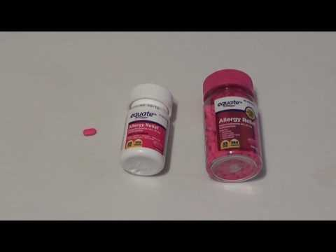 Benadryl:  The Most Important OTC Prepping and Survival Medication!