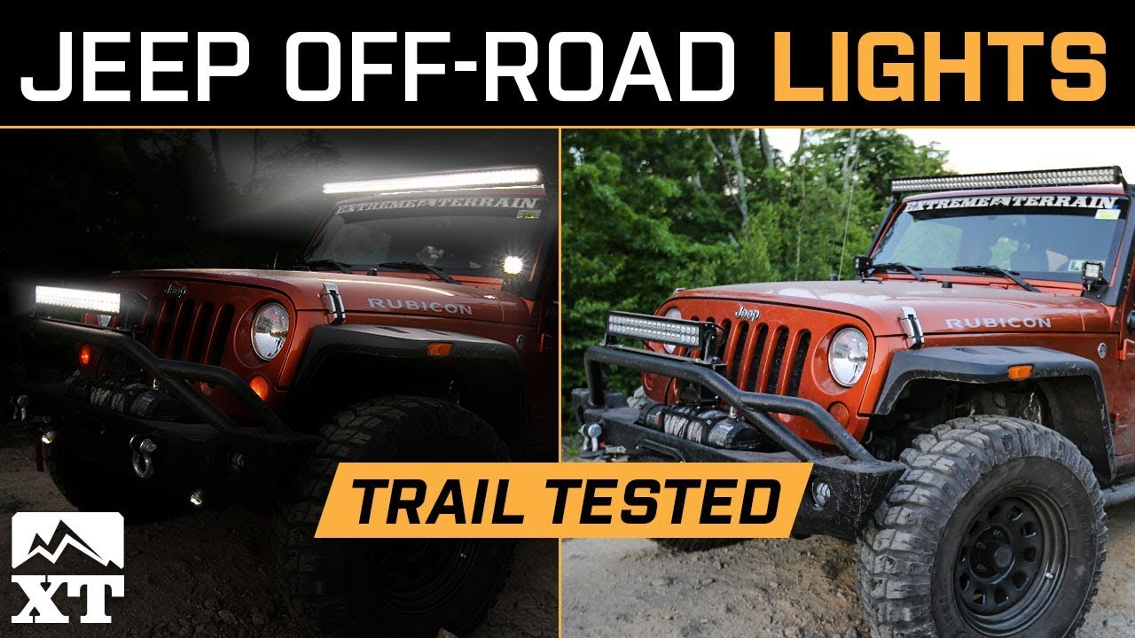 The best jeep wrangler off road lighting light bars rock lights the best jeep wrangler off road lighting light bars rock lights floodspot light aloadofball Images