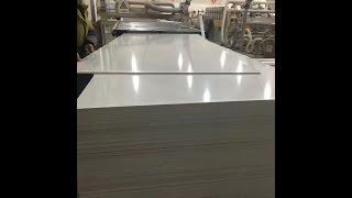 PVC foam board manufacturing process(In Vietnam)