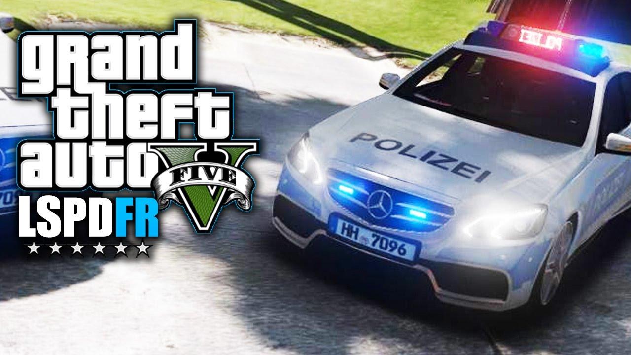 Gta 5 Lspdfr Deutsch Die Polizei Rüstet Auf Polizei Mod Youtube