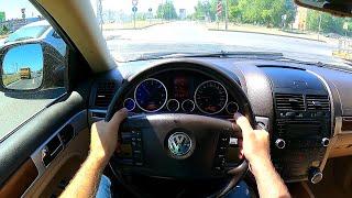 2010 volkswagen touareg POV test drive