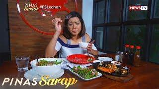 Pinas Sarap: Isang kainang lechon recipes lang ang nasa menu, sinubukan ni Kara David