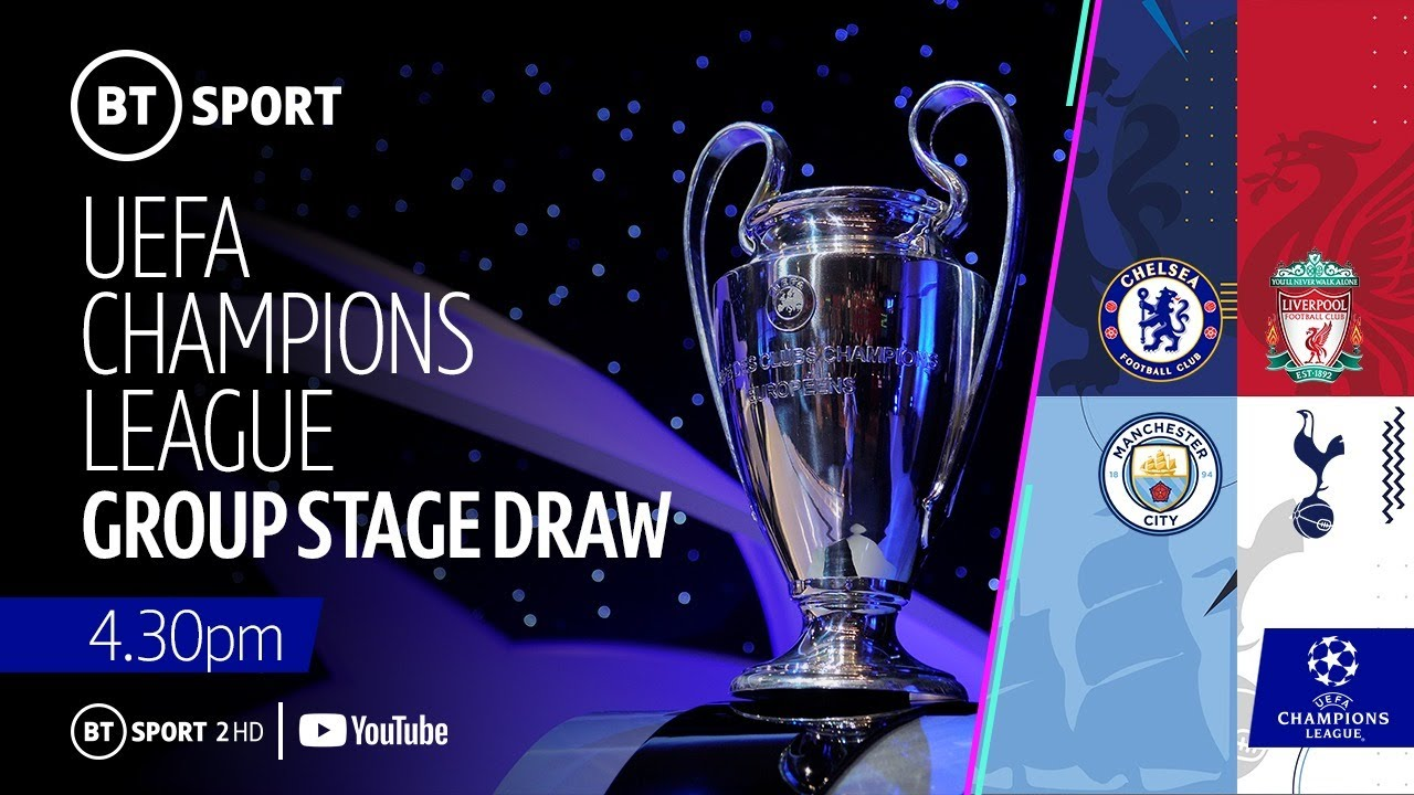Uefa Champions League 2019 20 Group Stage Draw All You Need To Know Ghanacrusader