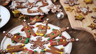Gingerbread Cookies  Christmas Special Recipe  Nick Sarafs Foodlog