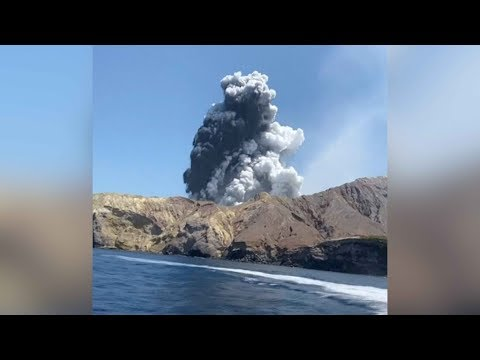 New Zealand volcano eruption: Terrifying moments caught on camera