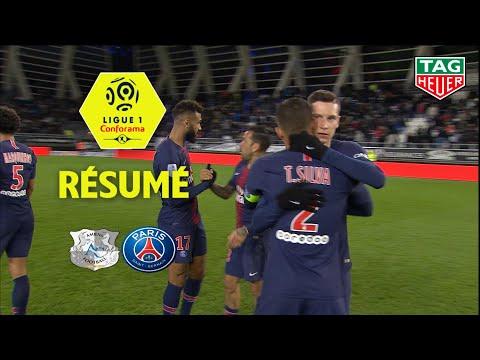 Amiens SC - Paris Saint-Germain ( 0-3 ) - Résumé - (ASC - PARIS) / 2018-19