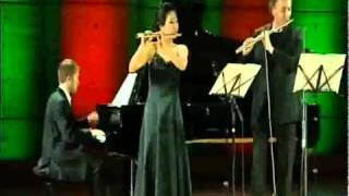 Rigoletto Flute Duo Jean Ferrandis Ji Young Lee and Paul Montag.mp4
