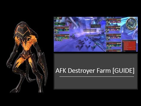 Guild Wars AFK DESTROYER Farm [GUIDE] EASY TITLE POINTS!