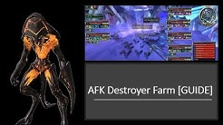Guild Wars AFK DESTROYER Farm [GUIDE] EASY TITLE POINTS!