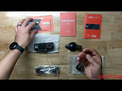 HOW TO INSTALL A VANTRUE N2 PRO DASHCAM IN A 2018 VW ATLAS