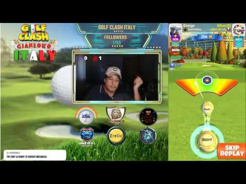 Golf Clash Livestream - City Of Light Tournament - Qualifica PRO (-14) - Gianluca