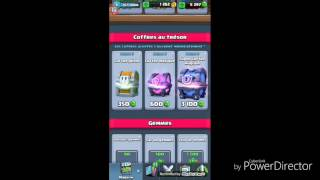 Pack opening 50€ clash royale
