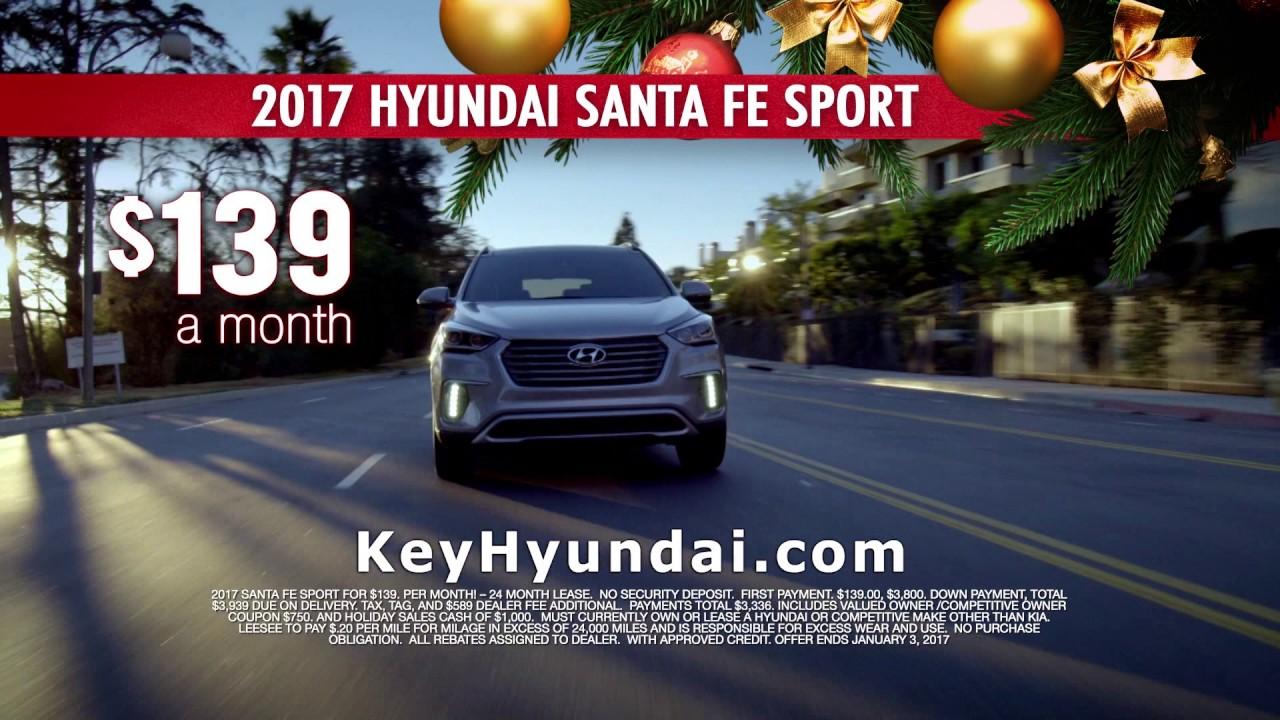 2017 Hyundai Elantra U0026 Santa Fe Sport Specials | December 2016 | Key Hyundai  | Jacksonville, FL