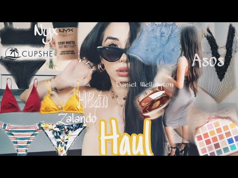 HAUL CUPSHESwimsuits Dreaming Of Summer😍 - DANIEL WELLINGTON -ASOS ZALANDO SHEIN NYX -
