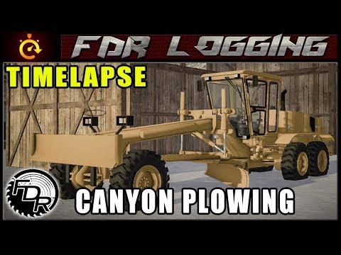 Canyon Plow | Farming Simulator 2017 | Timelapse Logging thumbnail
