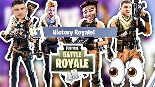 LSK, Jesser & Mopi Try To Carry LosPollos AGAIN - Fortnite Squads (Funny Gameplay)
