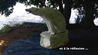 """Gambar cover Edition 2018 de """"Sculptures en l''île"""" à Andresy"""