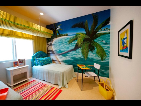 exciting ocean themed bedroom | Beach Theme Bedroom I Beach Themed Bedroom Art - YouTube