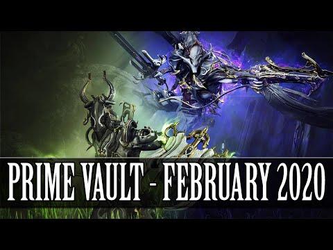 Warframe - Oberon & Nekros Prime Vault (February 2020)
